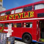 【第7回みじんこMTG】真っ赤な2階建てバスに揺られて行うイチゴパフェMTG