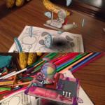グリコ×ドラえもん3D塗り絵