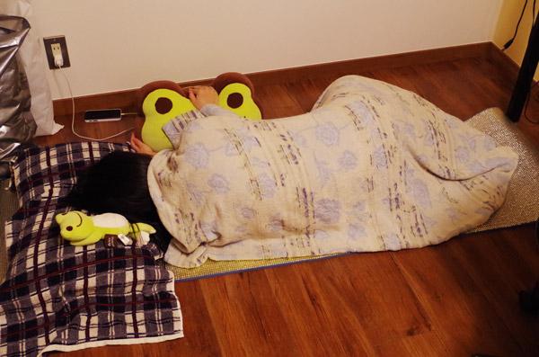 屋外で寝る(準備編)
