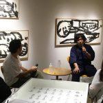 書家・山本尚志氏へのインタビュー「第1回/書家が現代アートの舞台に立つ上でやるべきこと(前編)」