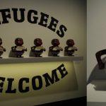 アートを通じて社会を知る~現代アートと難民問題について