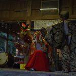 上毛町ワーキングステイ9~10メートルの竹を鬼が登る!五穀豊饒・家内安全を祈念した神楽