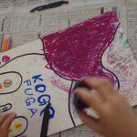 上毛町ワーキングステイ19~上毛町の児童館でアートプロジェクトを行いました!