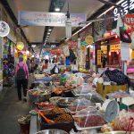 韓国大田(テジョン)のフィッシュマーケットで屋台を食べ歩き