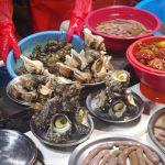 韓国釜山の観光地・多大浦(タデポ)ビーチ近くの魚市場に行ってみよう!