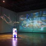 日本語解説付きの展覧会「Displaced Language」Hogti Art Center