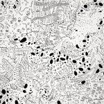 細胞をテーマにしたアート作品の世界観を「はたらく細胞」と合わせてみたよ。
