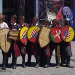 ルーマニア世界遺産の町シギショアラで中世祭り1~騎士たちによるガチバトル